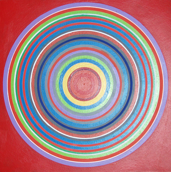 Joe Hertzi Circle Painting