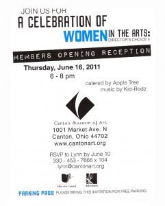Info on Women in the Arts
