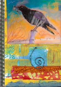 Birdy Sketch Book Cover finally finished by Li