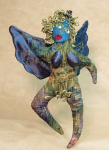 Art Doll Pattern by LisaLi Hertzi, the Angel Goddess